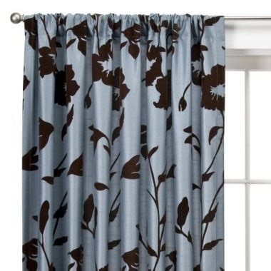 blue and brown curtains brown and blue curtains for the home pinterest