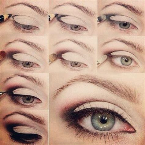 tutorial eyeliner simple easy smokey eye makeup pinterest beautiful eyes and