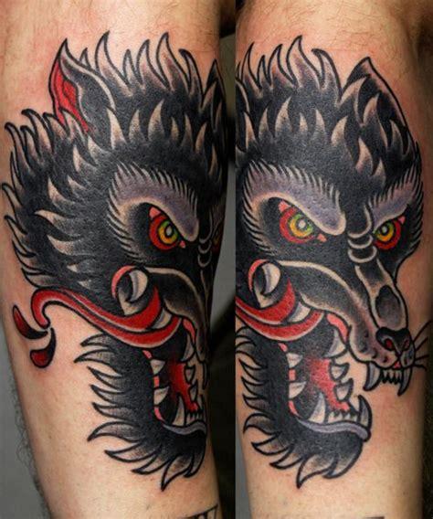 old school wolf tattoo 25 unique school designs ideas on