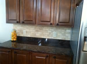 tile backsplash on granite house ideas