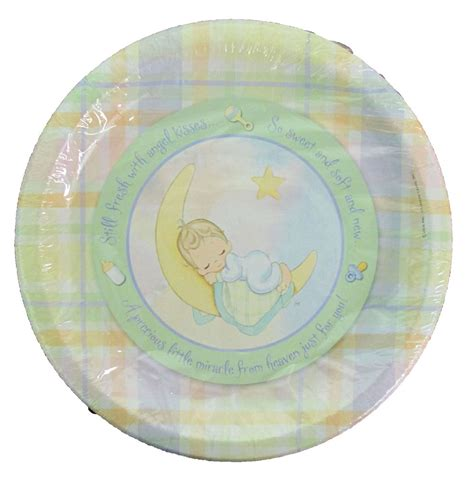 Baby Shower Tableware by Precious Moments Baby Shower Large Plates 8