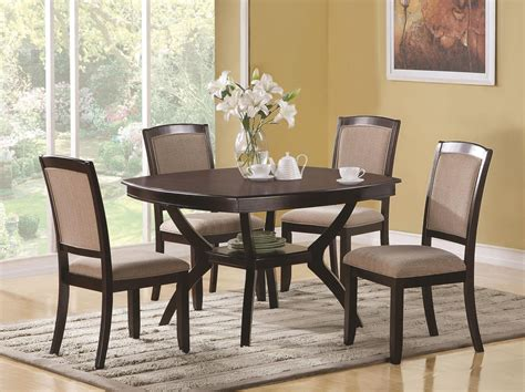 Dining Table Sets For 20 Coaster 102755 102752 Brown Wood Dining Table Set In Los Angeles Ca