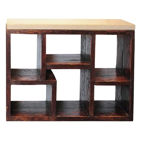 modern geometric shelving unit at 1stdibs