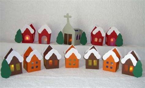 adventskalender dorf basteln adventskalender f 252 r kindergartenkinder basteln