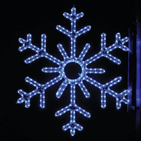snowflake lights outdoor christmas all about house design