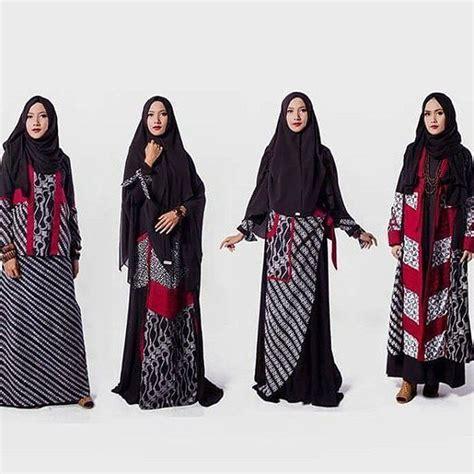 Model Gamis Batik Pesta 9 model baju batik pesta modern paling banyak diminati