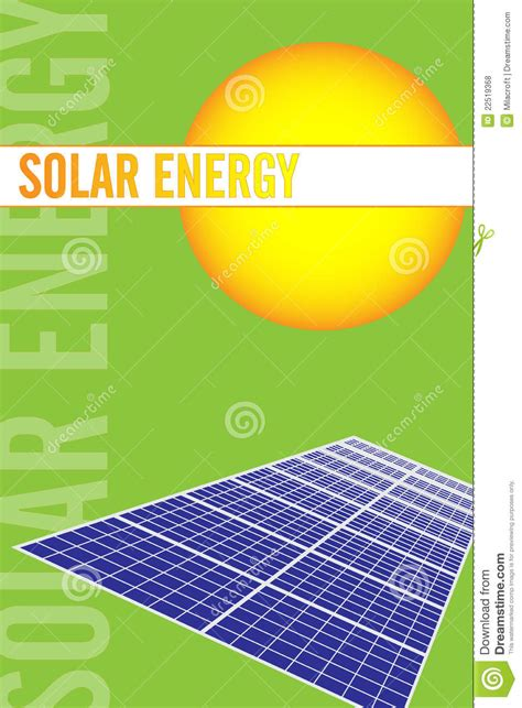 templates buisness card solar solar energy brochure royalty free stock photos image