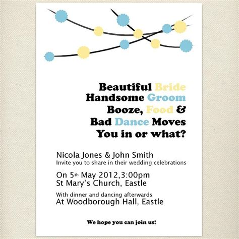 Wedding invitation quotes in english for friends stopboris Choice Image