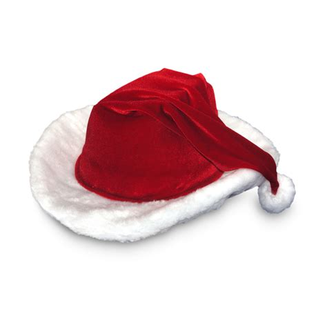 shop red velour cowboy santa hat at lowes com