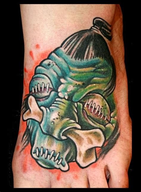 shrunken head tattoo 13 shrunken tattoos designs