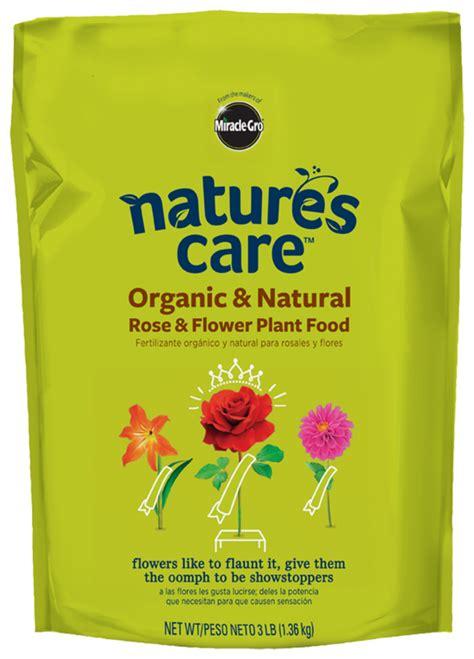 organic rose flower food natures care