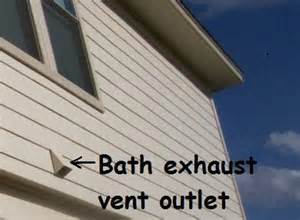 bathroom exhaust fan outside wall bathroom exhaust vents in your san antonio area home jwk