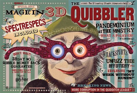 printable quibbler cover pin the quibbler harry potter prop help on pinterest