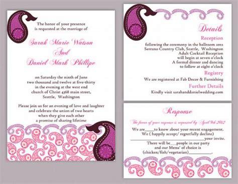 Editable Indian Wedding Invitation Templates Ppt Yaseen Hindu Wedding Ppt Templates Free