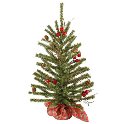 vickerman 27754 2 x 14 quot country pine with red berries