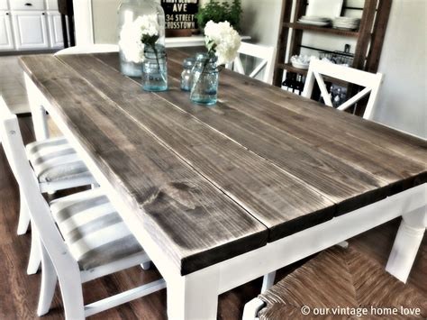 free farmhouse table have the farm kitchen table for your home my kitchen