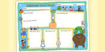 Children S Book Week Book Review Template Reading Books Read A Children S Book Template