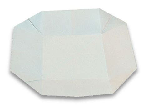 How To Make Paper Dish - origami dish