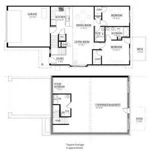 Basement Floor Plans 1200 Sq Ft Atlas Elite 1 200 Sf Ranch W Basement Tuscany Townhomes