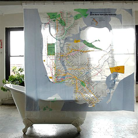 subway map shower curtain refreshing shower curtain designs for the modern bath