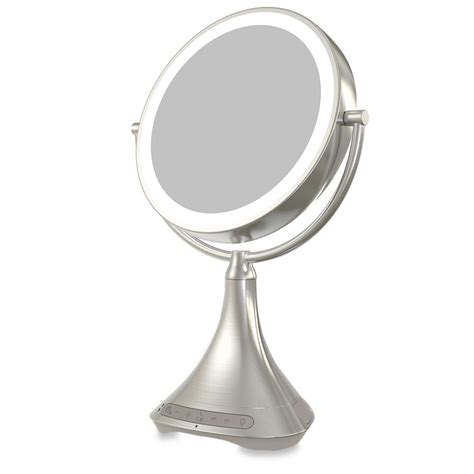 conair reflections lighted mirror conair reflections led lighted collection mirror rank