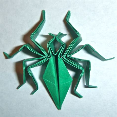Origami Spider Diagram - origamit paperfolding at mit