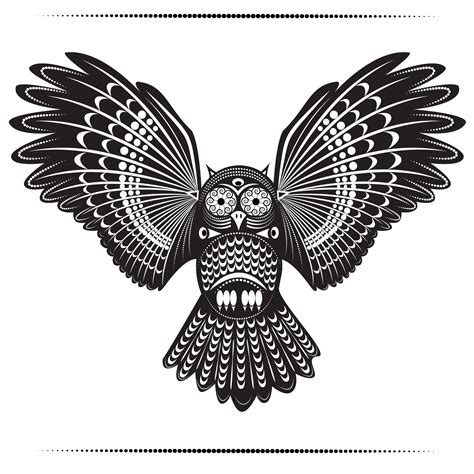 tribal owl tattoo pictures polynesian owl tribal owl tattoos ideas