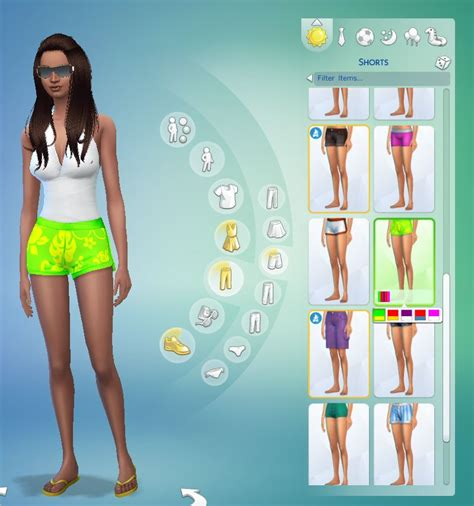 The Sims Next Top Model Accepting Submissions by Mod The Sims Hawaiian Print Surf Shorts For Your Sims