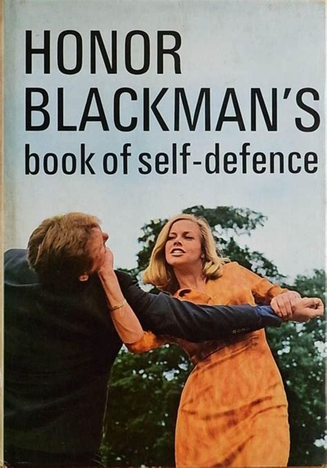 Cult C Classics Galore by Honor Blackman S Book Of Self Defence Pages Proofs