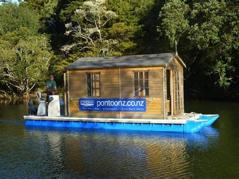 pontoon house boats diy pontoon tiny houses