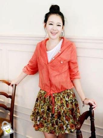 Coat Muslim Tali Murah baju wanita jaket oranye allsize toko baju