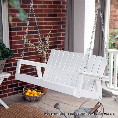 comfortable porch swing adirondack porch swings classical and comfortable