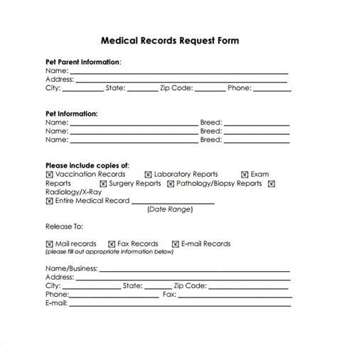 simple medical release form mt home arts