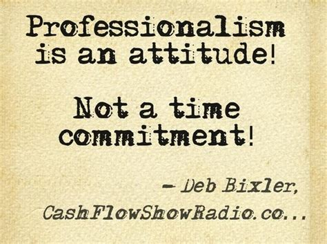 fb is not defined professionalism is not about time it is an attitude