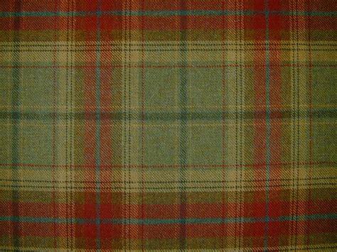 Tartan Fabrics For Upholstery - curtain fabric wool tartan green check plaid tweed