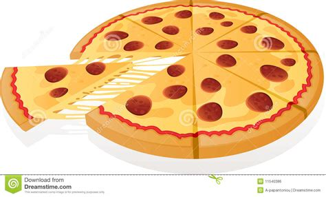 vector pizza royalty  stock image image