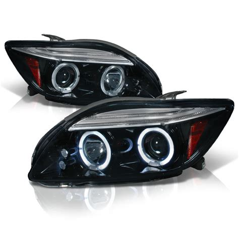 halo headlights scion tc 05 07 scion tc eye halo projector headlights smoked