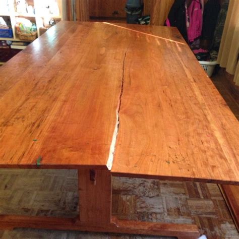 how to repair split wood table top then disaster struck dining table repair the literary