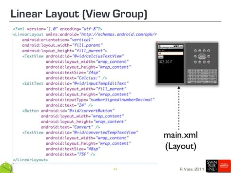 multiple linear layout in android climbing mount android june 2011