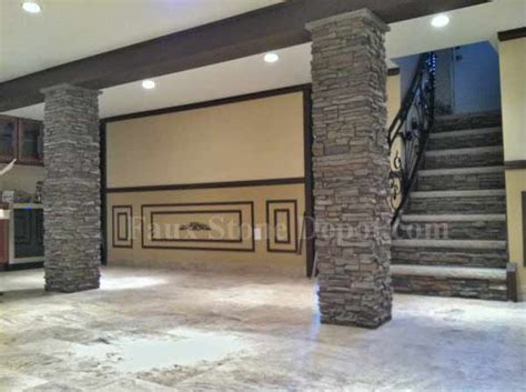 Wrap Around Porch House by Post Wraps The Blog On Cheap Faux Stone Panels