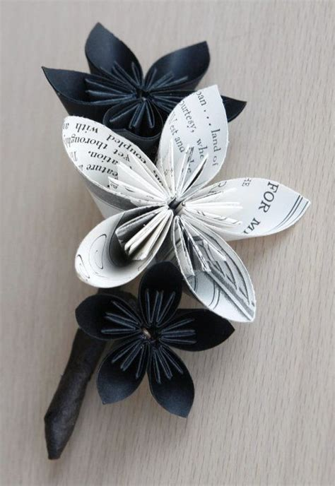 How To Make Recycled Paper Flowers - how to make a recycled paper flower bouquet eco snobbery