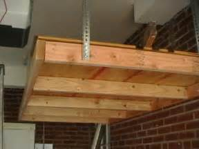 suspended shelving garage how to install a hanging shelf in garage or workshop ehow