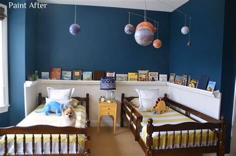 sherwin williams rainstorm boys room reveal giveaway home stories a to z