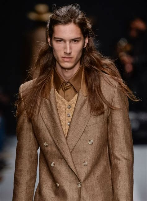 hairstyle ideas for guys with long hair on trend long hair ideas for guys hot 2014 looks