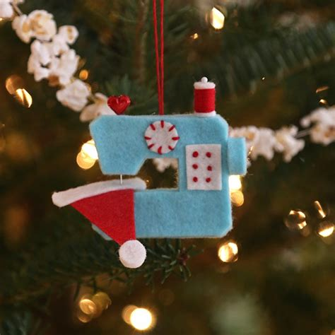 ho ho sew ornament during quiet time