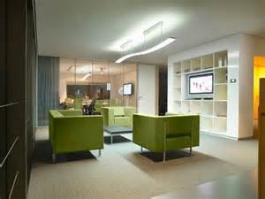 contemporary office lighting solution with light level and