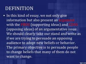 What Is The Definition Of An Essay by Define The Persuasive Essay Define Persuasive Essay