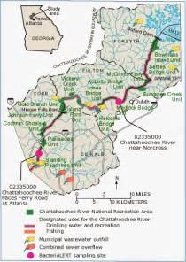 chattahoochee river map
