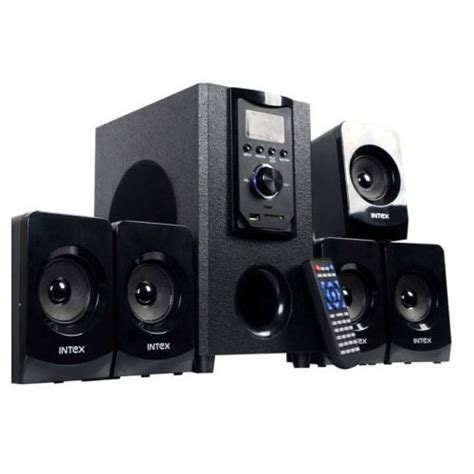 buy intex it 400suf vogue 5 1 multimedia speaker black