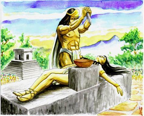 imagenes sacrificios mayas el origen de los mexicas comparte historia